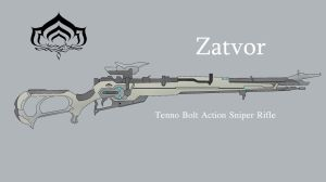 Zatvor - Tenno Sniper rifle. by ZzVinniezZ