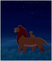 Mufasa and the Kings by daanzi