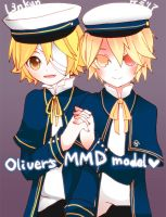 MMD Oliver by Miza3