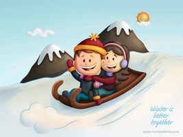 Winter is better together by KellerAC