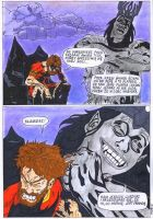 Morgoth punishes Hurin page 4 by Wosiu1989