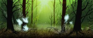 Enchanted forest by ThaneBobo