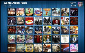 Game Aicon Pack 102 by HarryBana