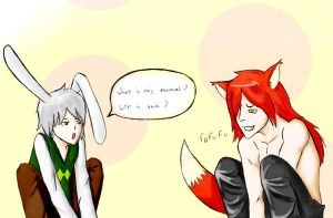 WTF is yaoi Mister fox? by TaylaChan