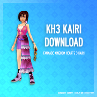 Kingdom Hearts 3 Kairi - DL by SnowEmbrace