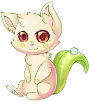 Leaf Kitten by JAYWlNG