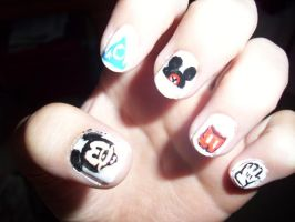 Mickey Nails by Happylod3