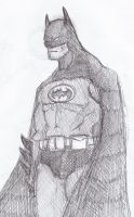 Batman Sketch by Mawnbak