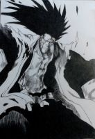 Kenpachi by littlePiyon