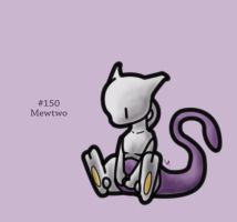 #150 - Mewtwo by FrostTechnology