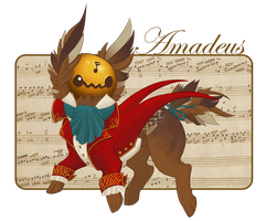 Lucky Chime MYO Contest: Amadeus by Ophiuchae