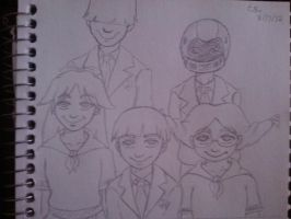 The Delightful Children From Down The Lane by Millie-Rose13