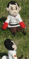 TF2 RED Medic plush by SmellenJR