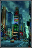 Time Square HDR by pier365