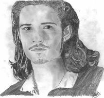 Orlando Bloom: Will Turner by simonsaz3