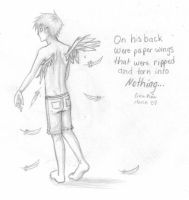 Ripped and Torn Paper Wings by panther-darkart412