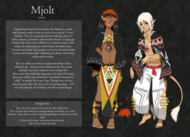 Mjolt Race Sheet by monokroe