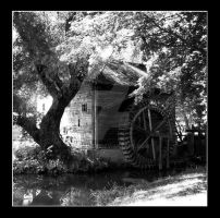 Water-mill by Hemhet