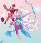 GEM RANGERS ROLLOUT! by Bahnloopi