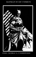 Batman inks by lebeau37