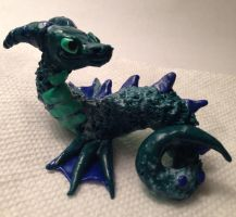 Sea Dragon Sculpture - Update 2 by Wolphyre
