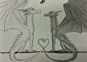Secret Santa: Dragon-Wolf-Lover by Shakkara1