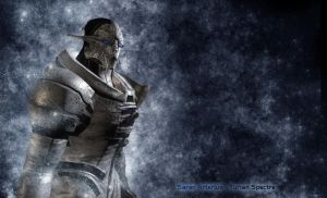 Saren Wallpaper - Mass Effect by EvilHephaestus