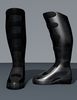 Althrian Combat Boots by fear-is-spreading
