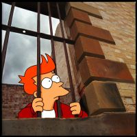 Phillip J. Fry...in jail by der-morgen