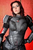 Jane Shepard _ Mass effect by CynShenzi