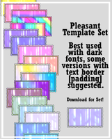 Pleasant Stamp Templates by AssClownFish