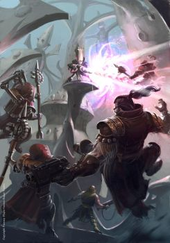 warhammer 40000 Fight for your by neisbeis