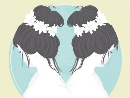 Beautiful Girl (Twins) by apparate