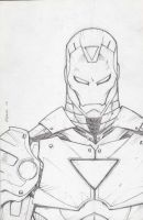 Ironman sketch by Kid-Destructo