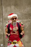 Master Roshi on Christmas 1 by nbanezart
