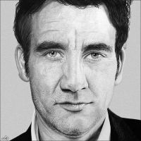Clive Owen by NicksPencil