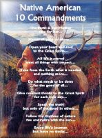 Native Ten Commandments by justincmgreen