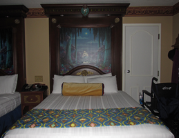 Bed and Frame with Fiberoptics 1 by WDWParksGal-Stock