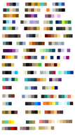Color Palettes by LizzysAdopts