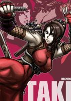 Soulcalibur Taki by hidss