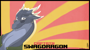 Swagdragon: A gift for Thazumi by captaincuttlefish