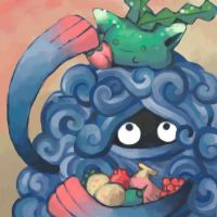 tangrowth and hoppip by SailorClef
