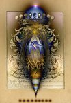 WALL ART 1623 - Crown and Ornaments by oboudiart