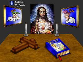 3D Altar Objects by BB-K