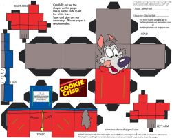ADV CH11: Chip the Wolf Cubee by TheFlyingDachshund