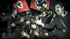 Zombie Walk: Nazi zombies by abravewolf