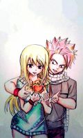 fairy tail : Nalu by BakaAden