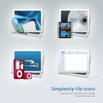 Simplexity File Icons by jrdnG