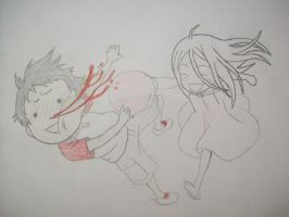 shiro punches the crap out of ganta by tuck234