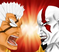 Asura vs Kratos: Destruction vs. War by SoapManpv